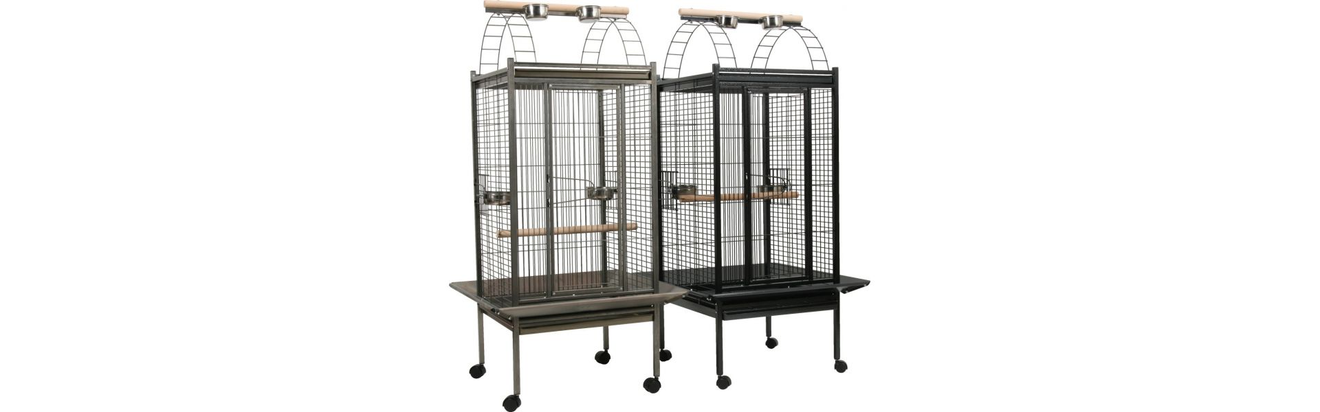cage pour perruche et perroquet au comptoir de no au. Black Bedroom Furniture Sets. Home Design Ideas