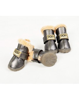 DOG SHOES ARGENT