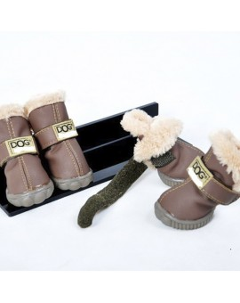 DOG SHOES CHOCOLAT