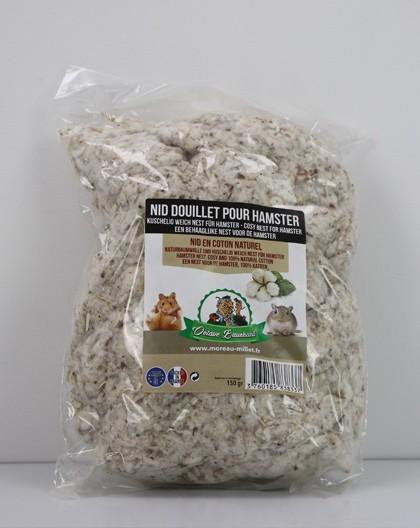Nid douillet en coton naturel pour rongeurs Octave Bauchant