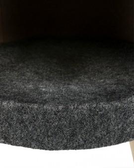 Dôme d'intérieur pour chat sur pieds en bois design et confortable Trixie Senta