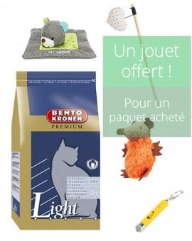 Croquettes premium pour chats âgés et chats d'intérieur goût poulet Bento Kronen