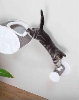 Barreau de jeu mural pour chat à fixer