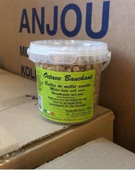 Balles de millet anisées pour oiseaux
