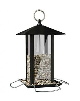Distributeur de graines pour oiseaux du ciel