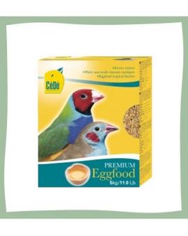 Pâtée cédé aux oeufs frais pour oiseaux exotiques
