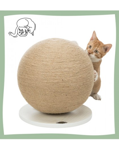 Boule griffoir pour chat