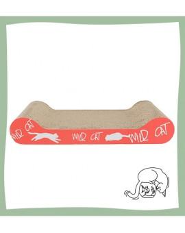 Plaque griffoir en carton pour chat