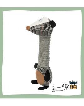 Peluche mouffette pour chien