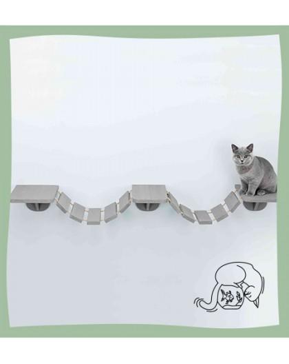 Pont suspendu pour chat