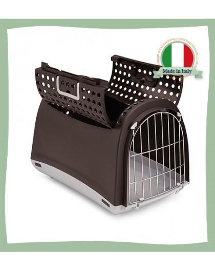 Caisse de transport pour chat ouverture dessus Linus Cabrio