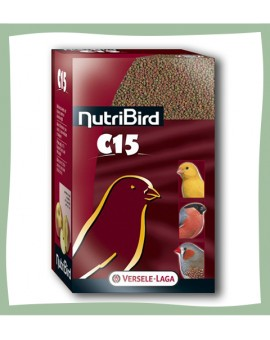 Nutribird C15 extrudés pour canaris et oiseaux exotiques