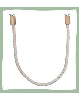 Perchoir en corde pour perruches et canaris