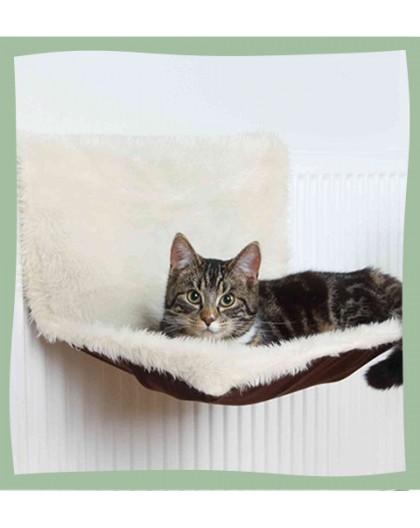 Lit pour chat à accrocher au radiateur confortable et résistant Trixie