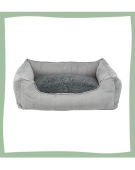 Panier pour chien haut de gamme avec couche intérieure chauffante Fendro