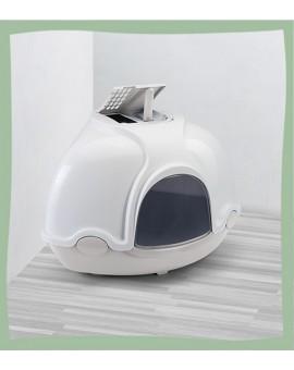 Maison de toilette d'angle pour chat GINGER IMAC
