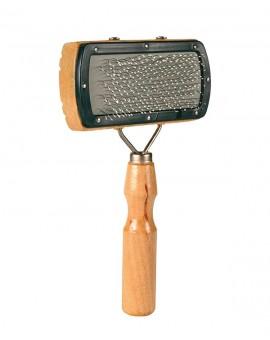 Brosse en bois pour chien tout type de poils