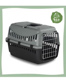 Caisse de transport pour chat en plastique recyclé Gipsy