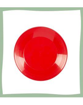 Frisbee pour chien en plastique