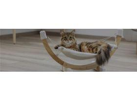 Hamac pour chat sur pied